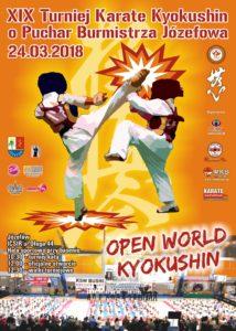 XIX Turniej Karate Kyokushin o Puchar Burmistrza Józefowa