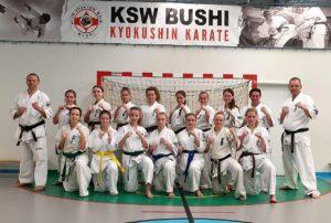 Trening kumite kobiet