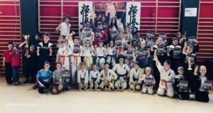 WKB Turniej Karate o Puchar Burmistrza Miasta Brzostek