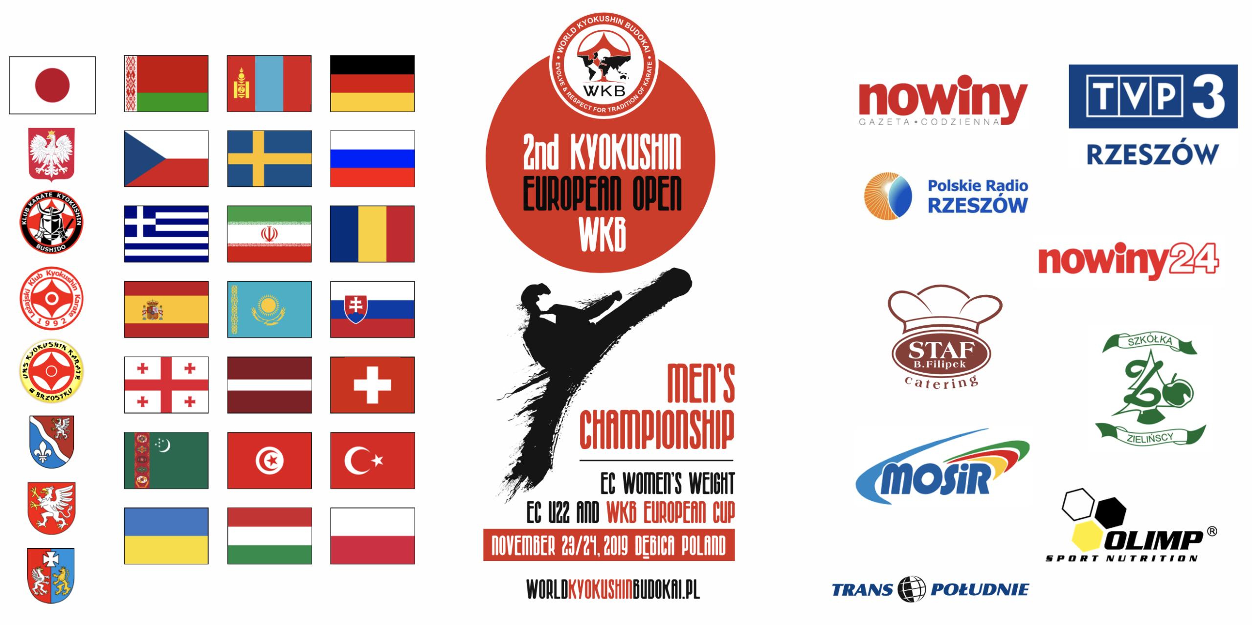 Zapraszamy do oglądania transmisji online! z Mistrzostw Europy Open WKB!