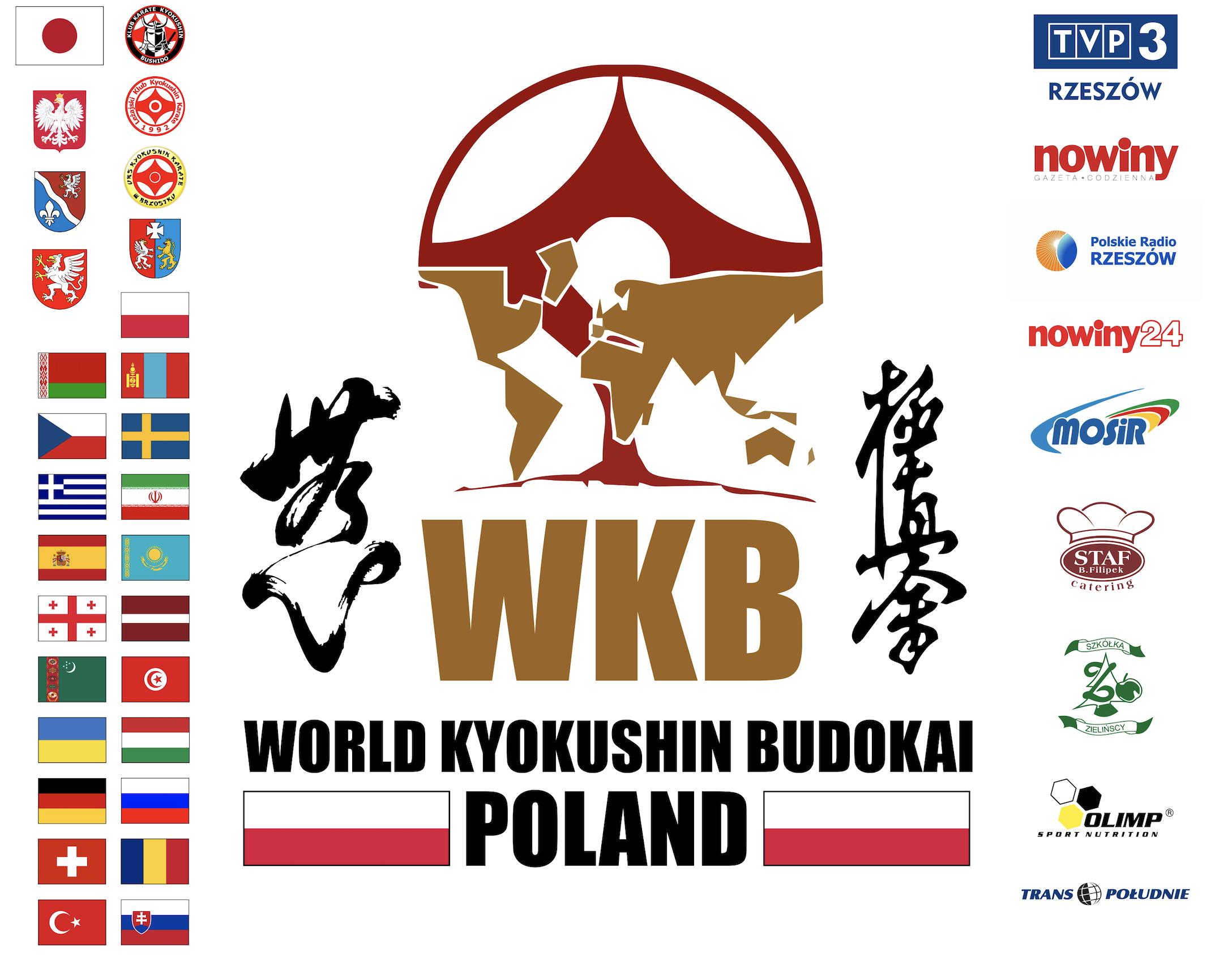 Mistrzostw Europy Open WKB – Wyniki Kumite/Kumite results