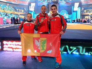 Read more about the article Szymon Olpiński brązowym medalistą 4 Mistrzostw Świata KWU